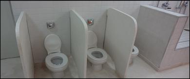 Divisórias para Banheiro Granilite Americana - Divisória em Granilite