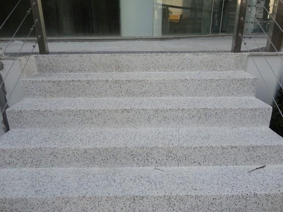 Revestimento para Escada em Granilite Botucatu - Revestimento de Piso em Granilite