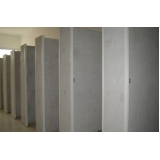divisória granilite para banheiro Valinhos
