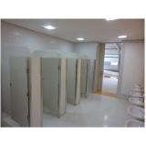 divisória de banheiro em granilite