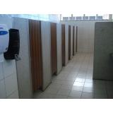 divisórias para banheiro em indústria Americana
