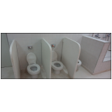 divisórias para banheiro granilite Itapetininga