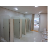 divisórias para banheiros coletivos valores Campinas