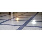 piso granilite em placas Americana