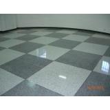 piso granilite branco
