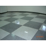 piso granilite cinza