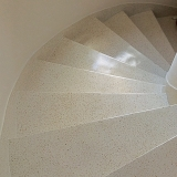 revestimento granilite escada Tatuí