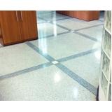 revestimento de piso em granilite